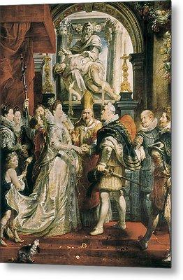 Rubens, Peter Paul 1577-1640. The Proxy Metal Print by Everett