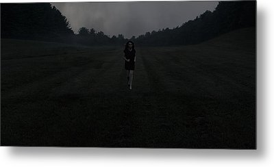 Run Metal Print by Chase Poore