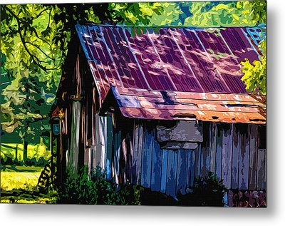 Rust And Rays Metal Print by Brian Stevens