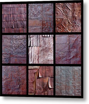 Rusted Tin Metal Print by Art Block Collections