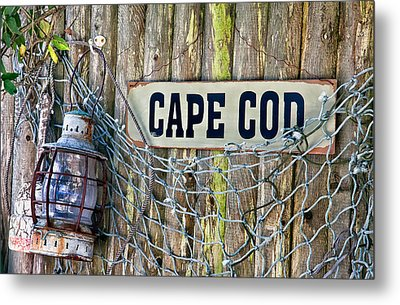 Rustic Cape Cod Metal Print by Bill Wakeley