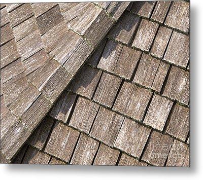 Rustic Rooftop Metal Print by Ann Horn