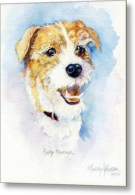 Rusty Mortimer Metal Print by Kimberly McSparran