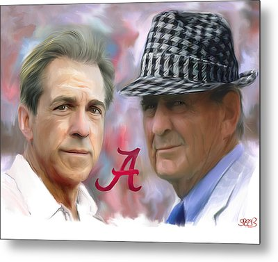 Saban And Bear Metal Print by Mark Spears