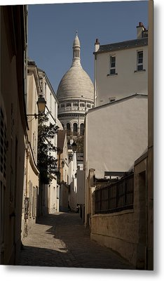 Sacre Coeur 1 Metal Print by Art Ferrier