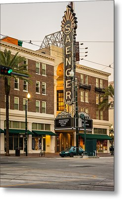 Saenger Theatre New Orleans Metal Print by Steve Harrington