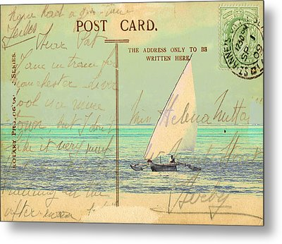 Sail Away Metal Print by Sarah Vernon