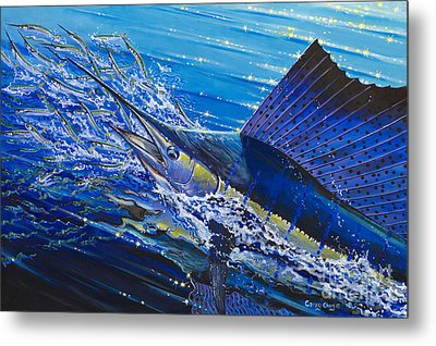 Sail On The Reef Off0082 Metal Print by Carey Chen