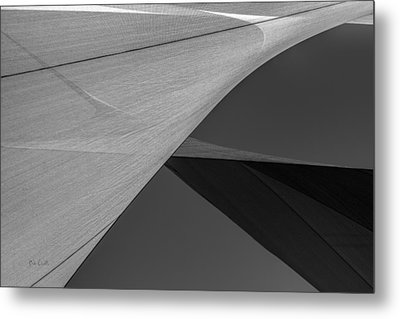 Sailcloth Abstract Number 9 Metal Print by Bob Orsillo