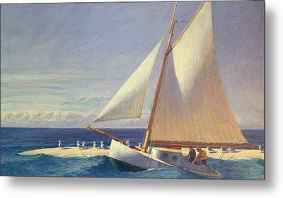 Sailing Boat Metal Print by Edward Hopper