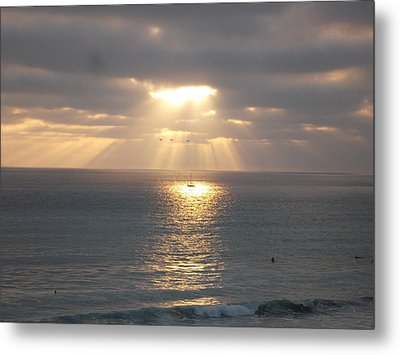 Sailing Under The Sun Metal Print by Patricia Lyons