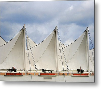 Sails Metal Print by Alison Miles