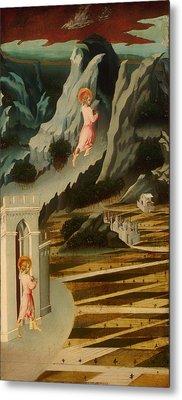 Saint John The Baptist Entering The Wilderness Metal Print by Mountain Dreams