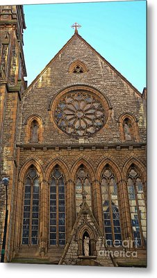 Saint Joseph's Catherdral Metal Print by Kathleen Struckle