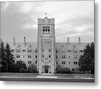 Saint Mary's College Le Mans Hall Metal Print by University Icons