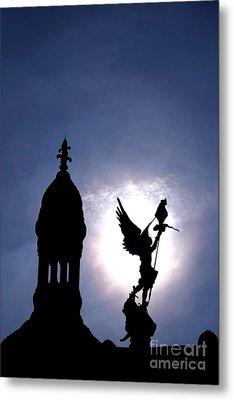 Saint Michael The Archangel  Metal Print by Olivier Le Queinec