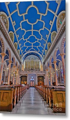 Saint Michaels Church Metal Print by Susan Candelario