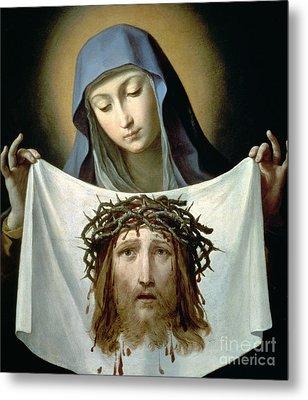 Saint Veronica Metal Print by Guido Reni