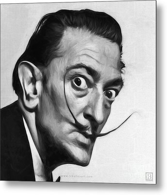 Salvador Dali Metal Print by Lonnie Christopher