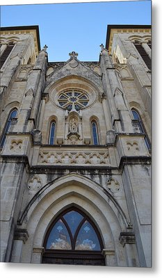 San Antonio Church 02 Metal Print by Shawn Marlow