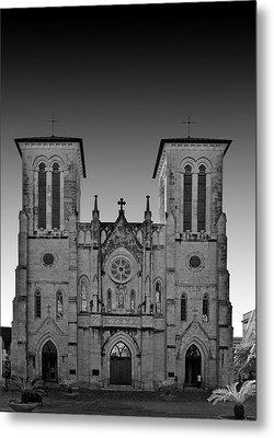 San Antonio - San Fernando Cathedral Metal Print by Christine Till