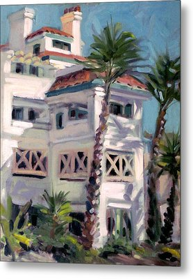 San Clemente Facade Metal Print by Mark Lunde