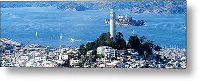 San Francisco Ca Metal Print by Panoramic Images