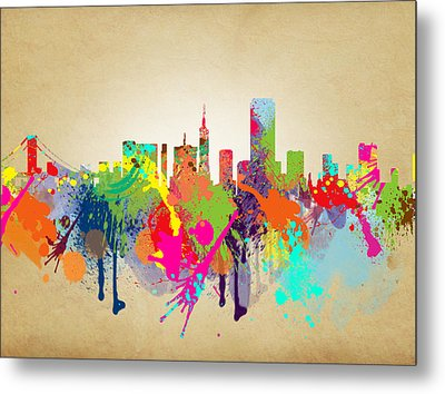 san francisco Citi Metal Print by Mark Ashkenazi