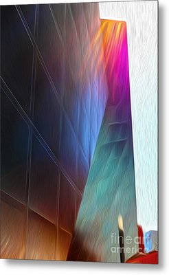 San Francisco - Contemporary Jewish Museum - 02 Metal Print by Gregory Dyer