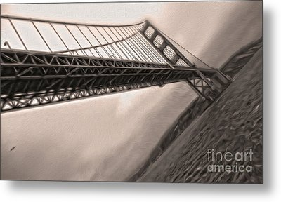 San Francisco - Golden Gate Bridge - 04 Metal Print by Gregory Dyer