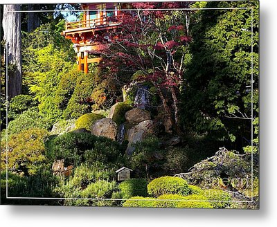 San Francisco Golden Gate Park Japanese Tea Garden 9 Metal Print by Robert Santuci