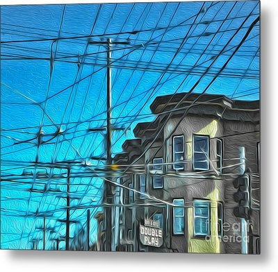 San Francisco - Mission District - 01 Metal Print by Gregory Dyer