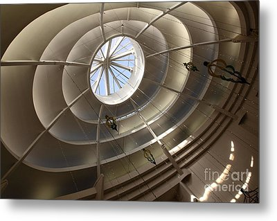 San Francisco Nordstrom Department Store - 5d20643 Metal Print by Wingsdomain Art and Photography