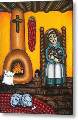 San Pascuals Nap Metal Print by Victoria De Almeida