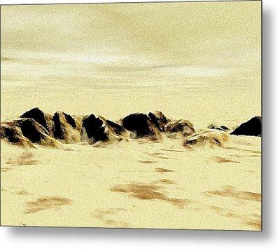 Sand Desert Metal Print by Anastasiya Malakhova