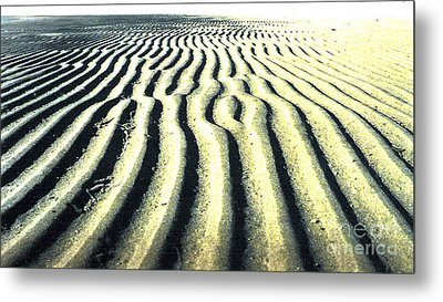 Sand Groove Metal Print by Graham Foulkes
