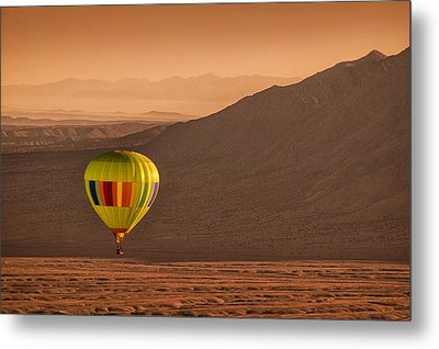 Sandia Peak Metal Print by Keith Berr