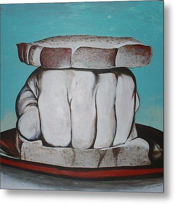 Sandwich Of The Day Metal Print by Kate Tesch