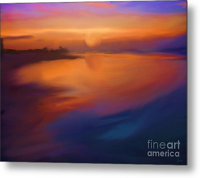 Sanibel Sunrise Metal Print by Jeff Breiman
