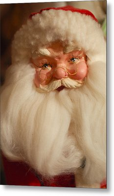 Santa Claus - Antique Ornament - 14 Metal Print by Jill Reger