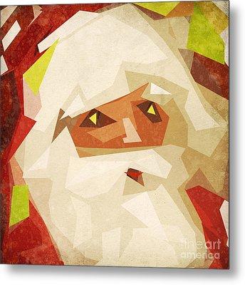 Santa Claus Metal Print by Setsiri Silapasuwanchai