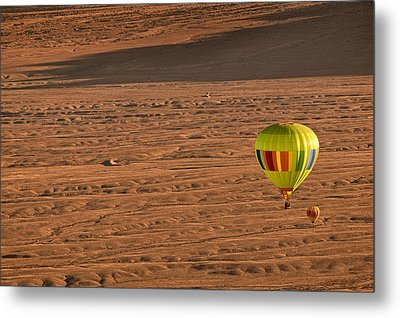 Santa Fe Bound Metal Print by Keith Berr