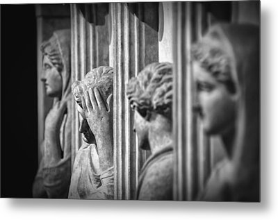 Sarcophagus Of The Crying Women II Metal Print by Taylan Soyturk