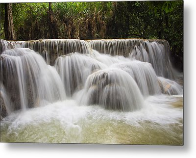 Satin Falls Metal Print by Kim Andelkovic