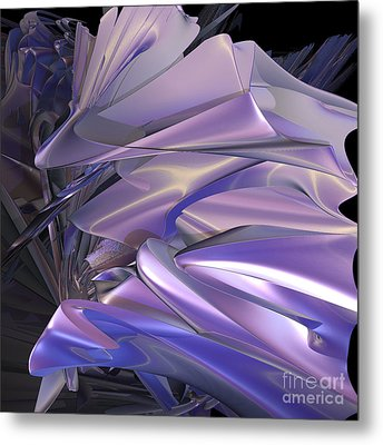 Satin Wing By Jammer Metal Print by First Star Art