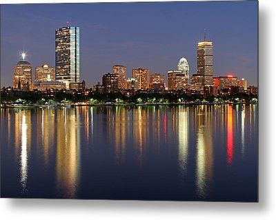 Saturday Night Live In Beantown Metal Print by Juergen Roth