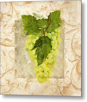 Sauvignon Blanc Metal Print by Lourry Legarde