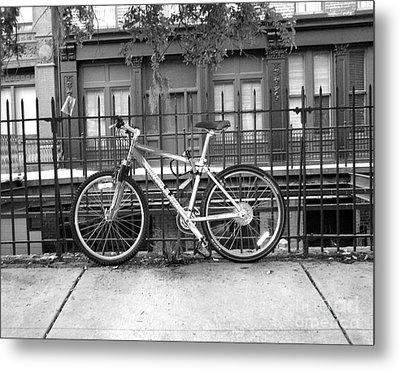 Savannah Bike  Metal Print by Janet Felts