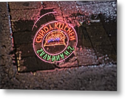 Savannah's Candy Kitchen Metal Print by Rick Berk