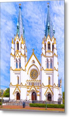 Savannah's Fairytale Cathedral Metal Print by Mark E Tisdale